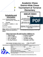 2012 Chess District Tourney