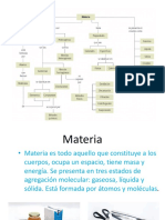 La_materia Cambios Fisicos y Quimicos