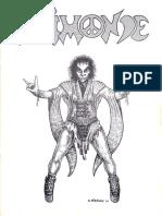 Animonde RPG - Livre De Règles
