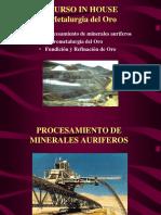 1 Procesamiento Minerales Auriferos