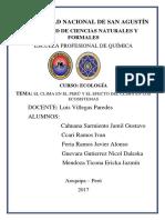 Clima en Perú Influencia en Ecosistemas