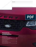 Jaguar Land Rover Annual Report 2016 Financial Statements