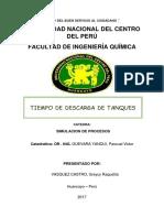 Informe de Vaciado de Tanques - Vasquez Castro