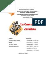 La Costumbre Jurídica