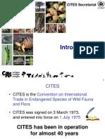 CITES Introduction