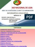 Corrientes Didcticas