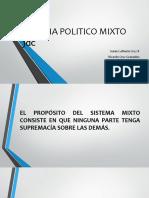Sistema Politico Mixto