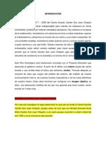 Antecedentes Pei-ce San Juan Chiquito