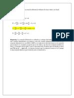 Punto 2 Ecuaciones Diferenciales