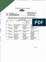 Time Table for SE (2015) Online Nov 17 Sem I Comb Ph I II_05102017