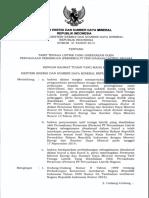 Permen ESDM 31 Tahun 2014 ttg tarif tenaga listrik yang disediakan oleh pln.pdf