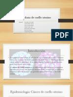 Neoplasias Del Cuello Uterino