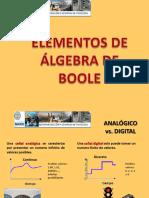 2 Elementos de Algebra de Boole