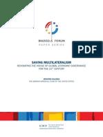 Saving Multilateralism