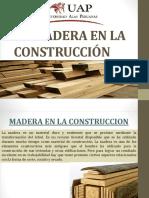 La Madera en La Construcción