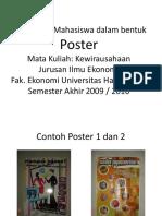 DOKUMEN 7-Contoh Hasil Karya Mahasiswa Dalam Bentuk Poster