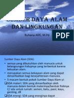 Pert-8 SDA dan Lingkungan Hidup