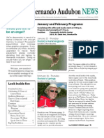 January-February 2009 Hernando Audubon Society Newsletter