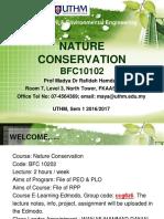 nature conversation chapter 1
