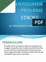 Penyuluhan Prolanis Stroke