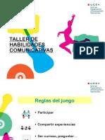 Taller Habilidades Comunicativas - UCEV 2012