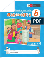 Multi Matemática 6 Unidad 3 y 4