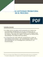 Etapas de La Actividad Probatoria en El Proceso FINAL