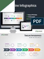 Timeline Infographics Showeet(Standard)