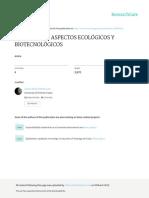 Microalgas Aspectos Ecologicos y Biotecnologicos