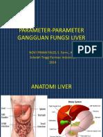 Parameter-parameter Gangguan Fungsi Liver