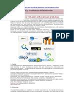 3.2. 37 Plataformas Virtuales Educativas Gratuitas
