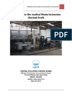 Revised Guidelines for Bio-medical Waste Incinerator