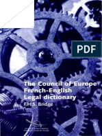 French-English Legal Dictionary