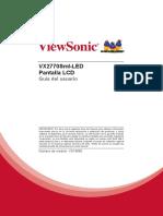 Vx2770sml-Led Ug Esp