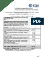 Undergraduate Budget 2017 18