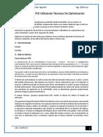 Sintonización PID Utilizando Técnicas de Optimización