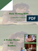 Basic Writing Skills.lvl1