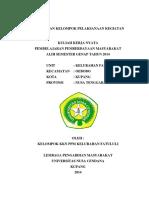 Laporan Kkn Undana 2014 Kelurahan Fatululi