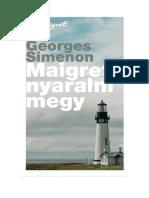 Maigret Nyaralni Megy - Georges Simenon