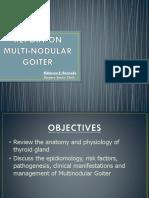 Multinodular Goiter