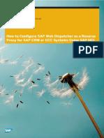 How to Configure SAP Web Dispatcher as ...r SAP ECC Using HANA Cloud Integration