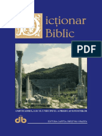 Dictionar Biblic J.douglas