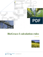 BioGrace-I Calculation Rules - Version 4d