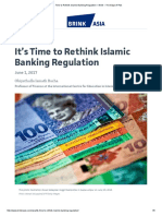 It's Time to Rethink Islamic Banking Regulation – Brink – the Edge of Risk