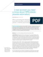 The Next Acronym You Need to Know About RPA Robotic Process Automation