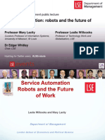 Service Automation - Robots and the Future of Work [Slides] (20160509-Robots-Presentation-Upload-Version)