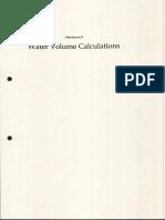 Ma140327 Attachment b Water Volume Calculations_pdf