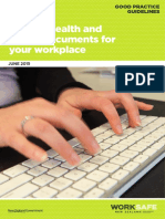 Guide to Writing Health and Safety Documents