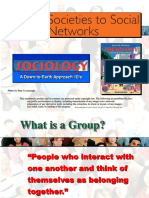 5. Ch # 6, Societies to Social Networks