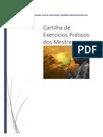 Cartilha de Exercícios Práticos Dos Mestres